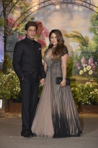 Shah Rukh Khan and Gauri Khan attend the event
