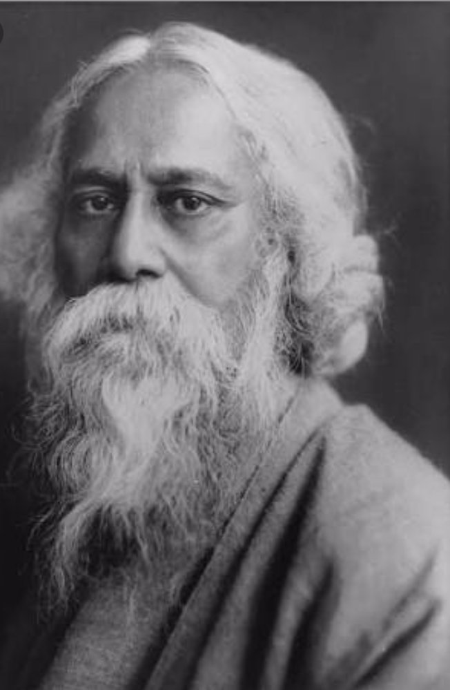 Rabindra Jayanti, celebrating the birth of the great Indian writer, Rabindranath Tagore