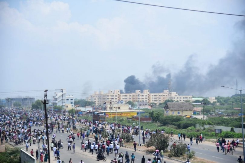 Sterlite protest in Thoothukundi, Madras High Court stays construction by Sterlite industries