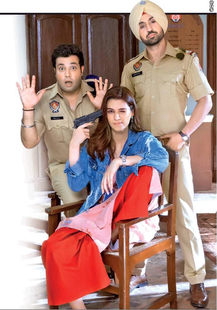 Arjun Patiala, first look at Diljit Dosanjh and Kriti Sanon's movie