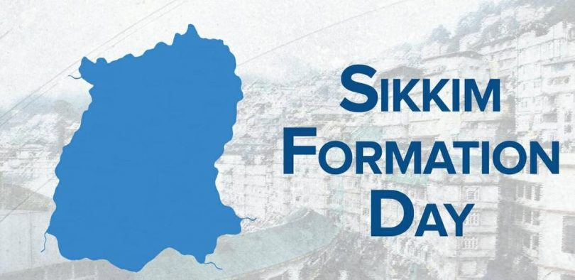 Sikkim Foundation day, the occasion on which it achieved statehood