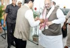Amit Shah in Guwahati, attacks Congress for Assam's development issues