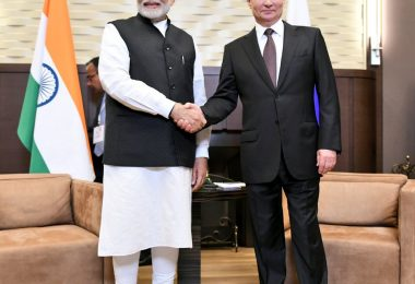 Narendra Modi meets Vladimir Putin in Russia, talks about the friendship between the two countries