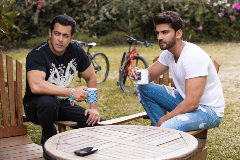 Salman Khan launches Zaheer Iqbal in a new movie produced by Salman Khan Films