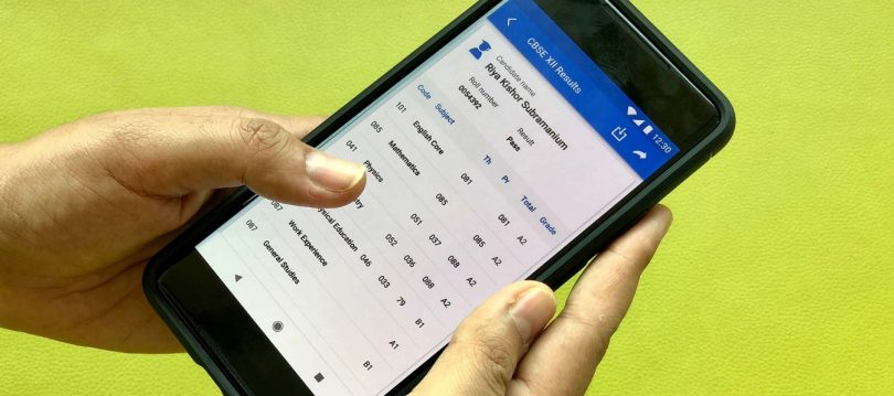 Microsoft SMS Organiser app lets you check your 2018 CBSE Board Results Offline