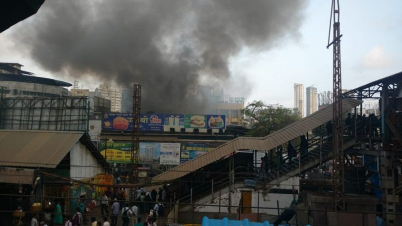 Fire breaks out at sweet shop near Malad Railway Station, no casualty happened