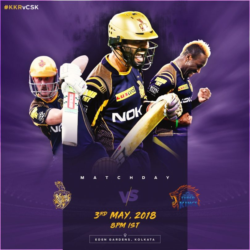 IPL 2018 KKR vs CSK Match Preview: Kolkata will likely to face Chennai's inconsistent bowlers