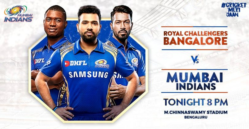 IPL 2018 RCB vs MI Match Preview: Clash in bid to keep playoffs hopes alive
