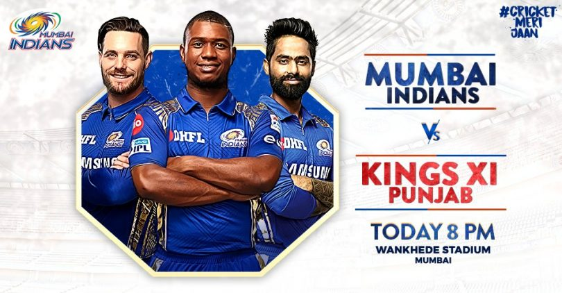 MI spoils KXIP Party, defeats them by three wickets