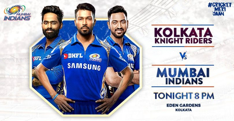 IPL 2018 KKR vs MI Predicted Match Preview and Highlights