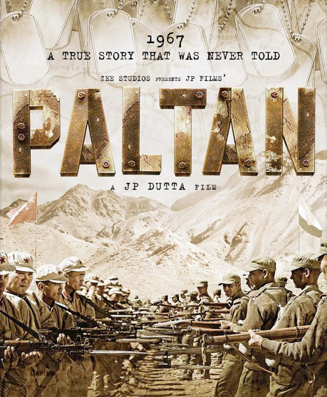 Paltan movie teaser released, men go to war in the first look