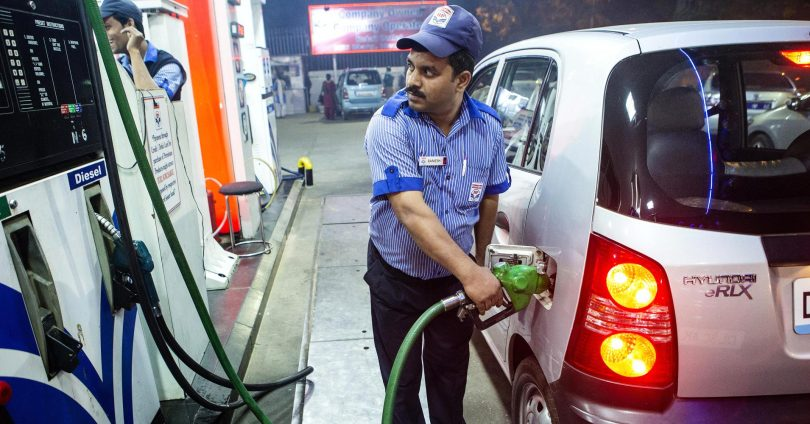 Petrol, Diesel price highest ever in metro cities, rises to Rs 76.87 in New Delhi