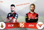 IPL 2018 SRH vs RCB Match Preview: Royal Challengers Bangalore to play against Sunrisers Hyderabad on slippery turf