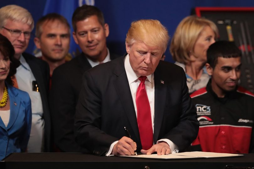 Trump Government may reiterated its intention to undo spouse H-1B Visa policy