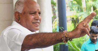 BS Yeddyurappa takes oath as the Chief Minister of Karnataka