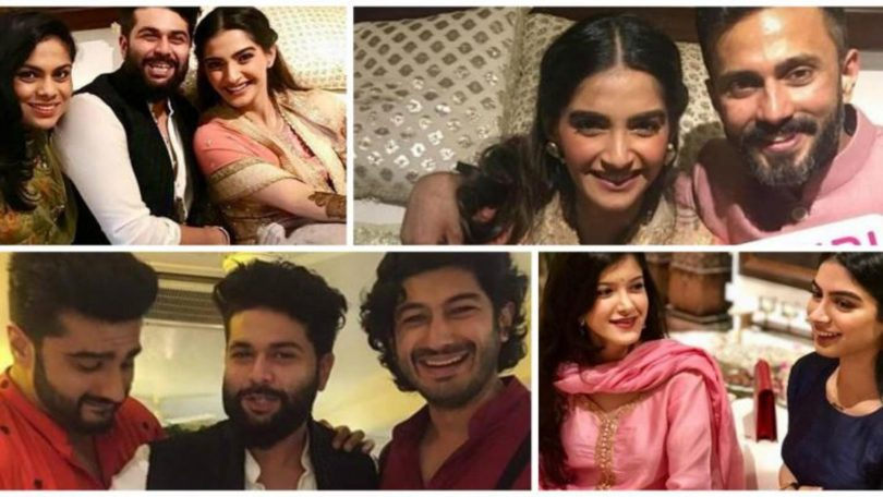 Sonam Kapoor and Anand Ahuja Mehendi inside pictures and videos