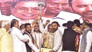 karnataka Congress Chief Minister Siddaramaiah