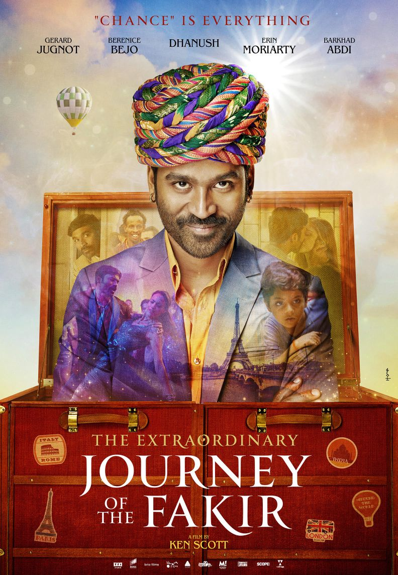 Dhanush starrer 'The Extraordinary Journey of the Fakir' launches poster at Cannes