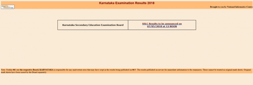 Karnataka SSLC results 2018, check karresults.nic.in for updates