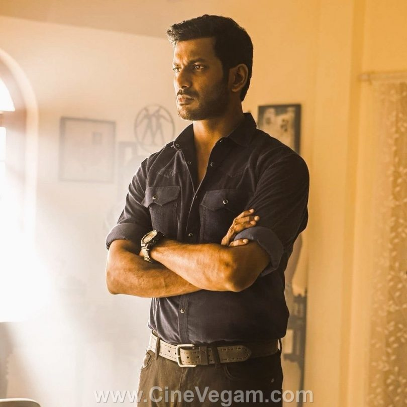 Irumbu Thirai movie review: Hand combative cyber terrorism tale!!