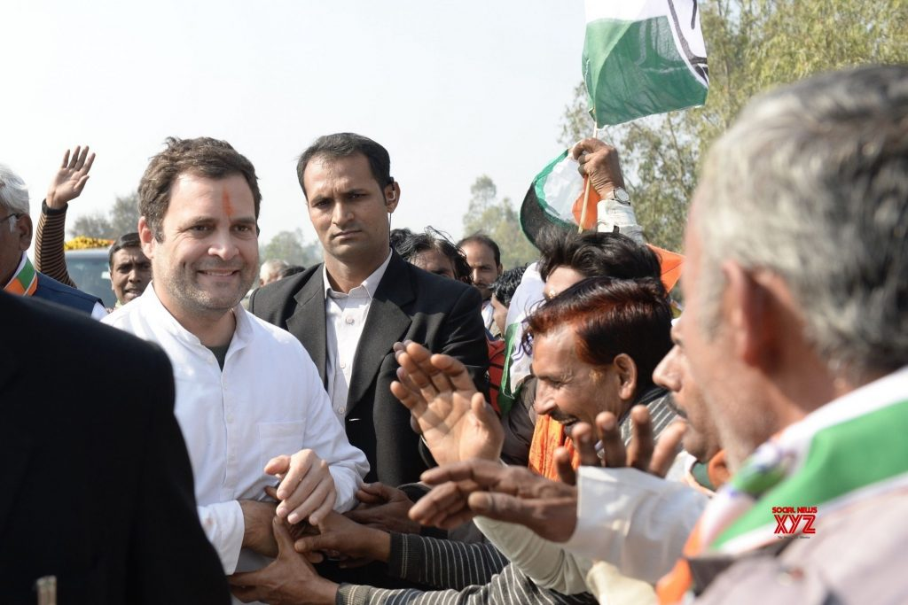 Congress President rahul Gandhi during the election campaign for Alwar and Ajmer seat on Rajasthan