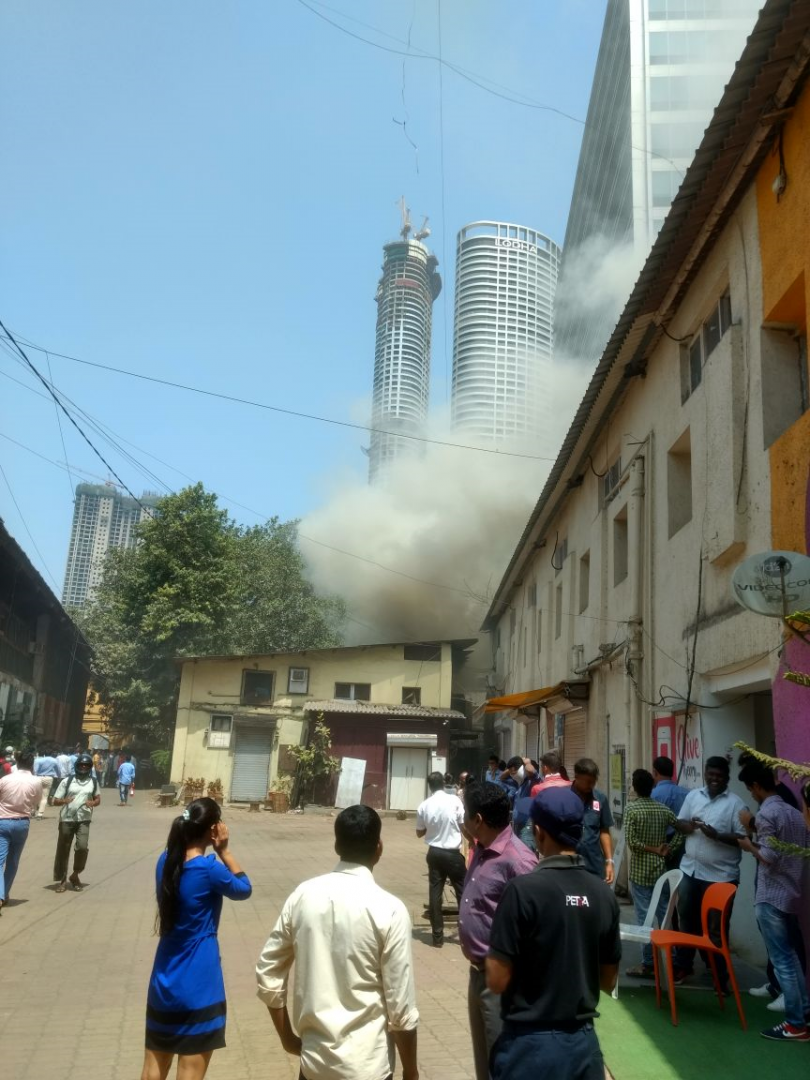 Mumbai, fire at Todi Mills Compound, no casualties or injuries reported