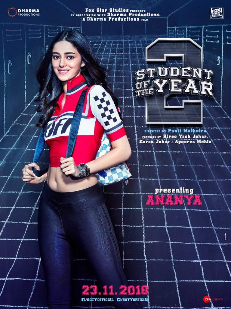 Ananya Pandey met with an accident on the set of SOTY 2