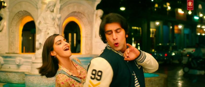 Sanju movie song Badhiya: Ranbir Kapoor and Sonam Kapoor groove to the tune