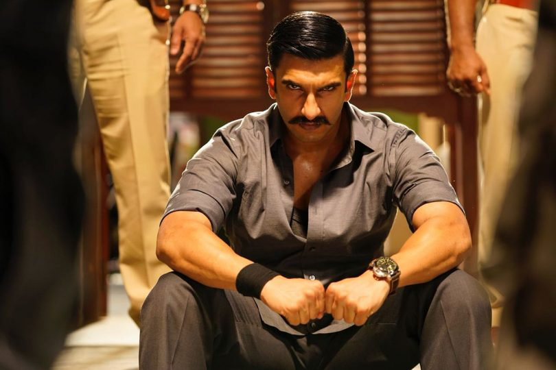 Simmba movie: Ranveer Singh looks intense in the first look from the cop flick