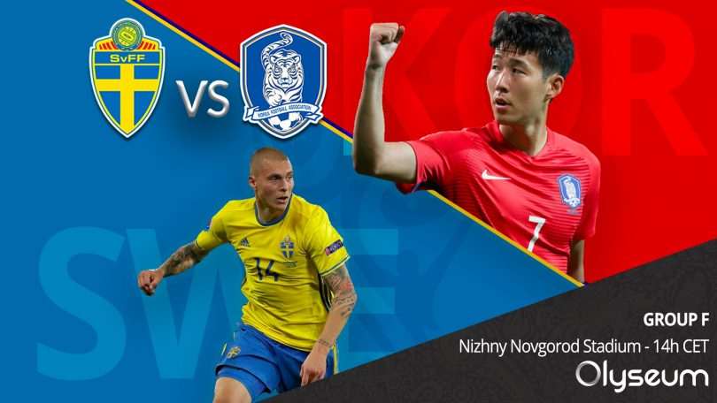 FIFA 2018 Match 12 – Sweden vs. Korea Republic Match Preview: Its Asia vs Europe