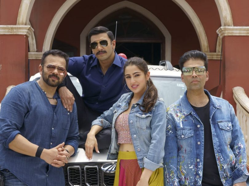 Simmba, starring Ranveer Singh and Sara Ali Khan to release on 28 December 2018, begins shooting