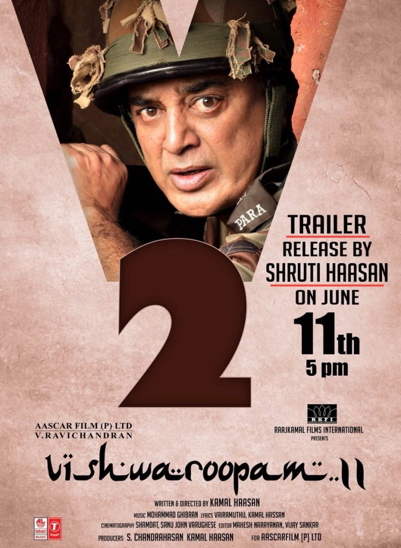 Vishwaroopam 2 Trailer: Explosions, Rockets, Questioned Actions and Bombs