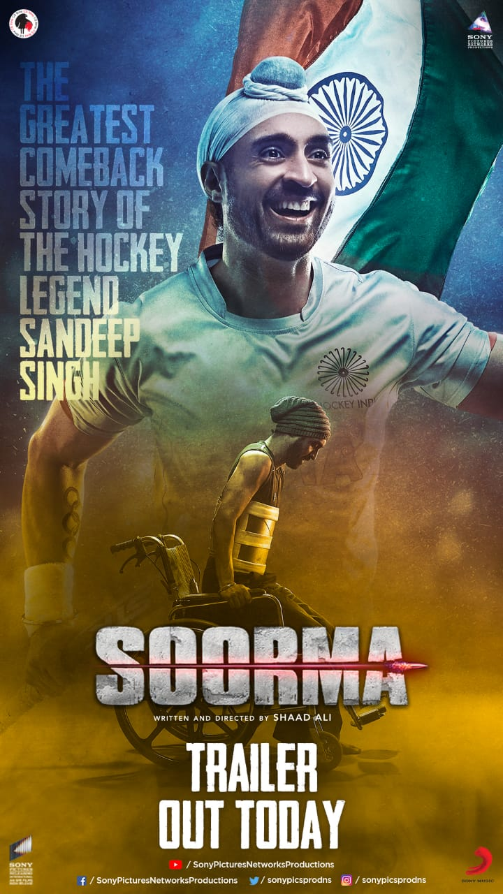 Soorma Trailer: Diljit Dosanjh nails the role of the Hockey legend Sandeep Singh