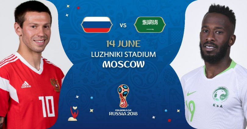 FIFA 2018 Match 1 – Russia vs. Saudi Arabia Match Preview: After 4 years the Story begins once again