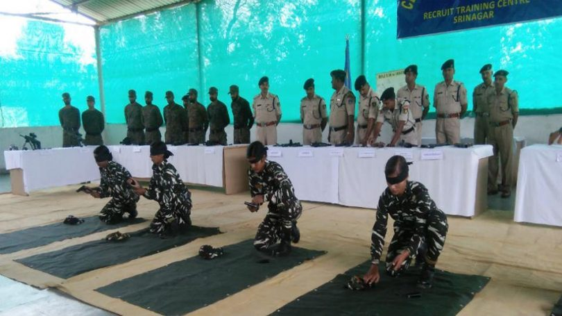 Women CRPF soldiers to tackle stone pelting crisis in Jammu and Kashmir