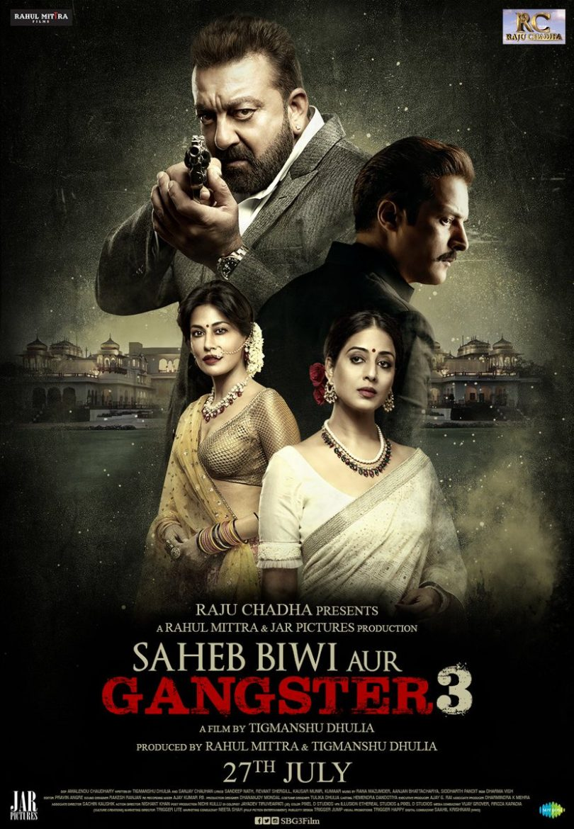 Saheb, Biwi aur Gangster 3 trailer released, Sanjay Dutt, Jimmy Sheirgill and Mahie Gill play games of power