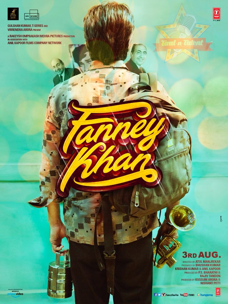 Fanney Khan poster released, the Anil Kapoor, Aishwarya Rai Bachchan starrer to release on August 3 2018