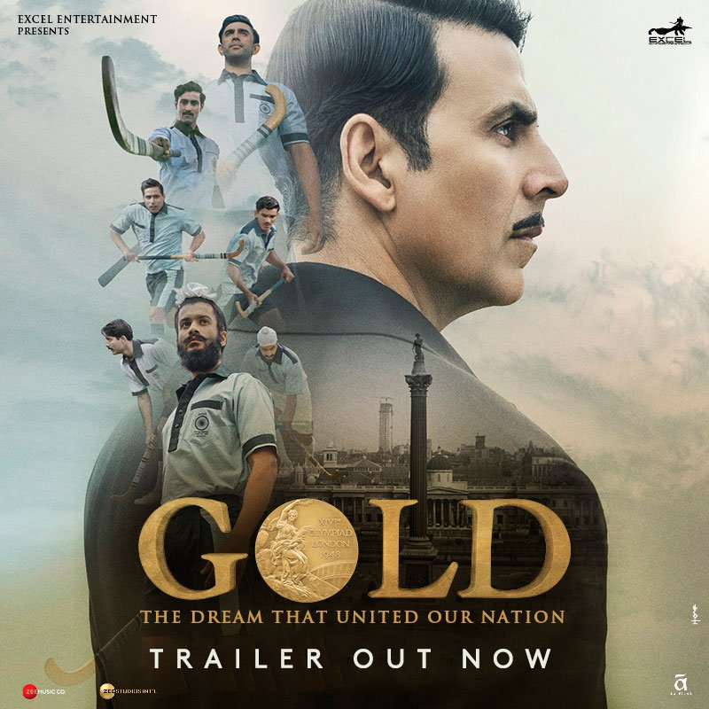 Gold Movie trailer: Akshay Kumar as a man who dreams of independence and Olympic Gold medal
