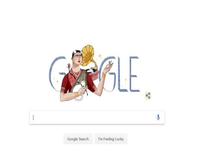 Google Doodle gives tribute to Gauhar Jaan, the Gramophone girl