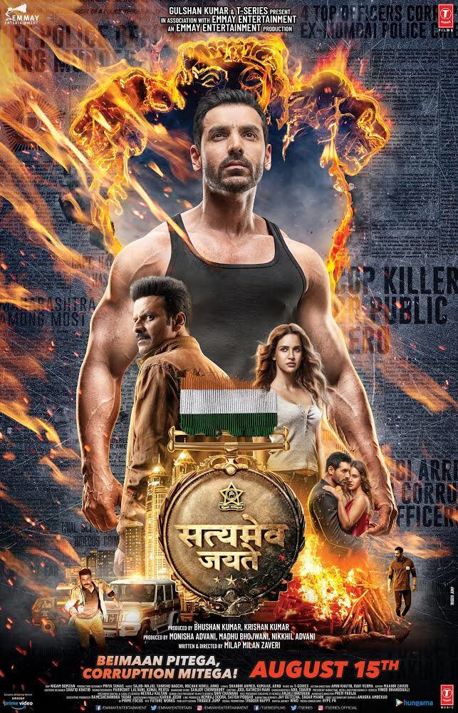 Satyameva Jayate trailer: John Abraham and Manoj Bajpayee are intense in the first look from the movie