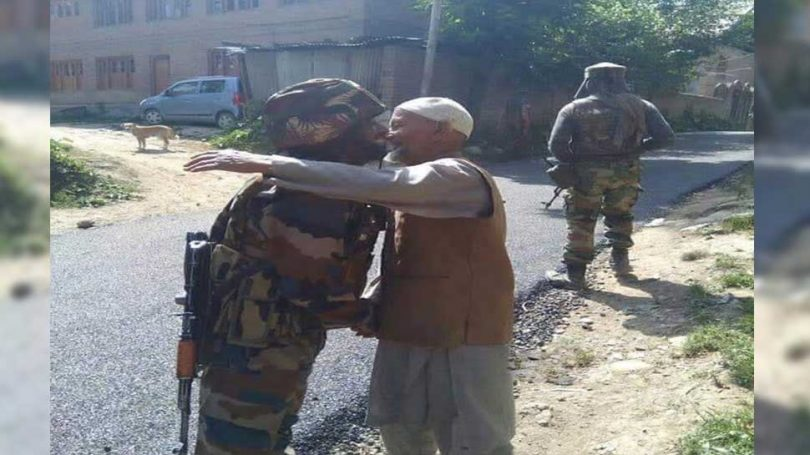 No Stone Pelting in J&K, Villagers welcomed Security forces by Tea and Snacks
