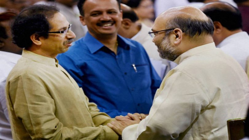 BJP-Shivsena Meeting: Amit Shah and Uddhav Thackeray meeting today in Mumbai