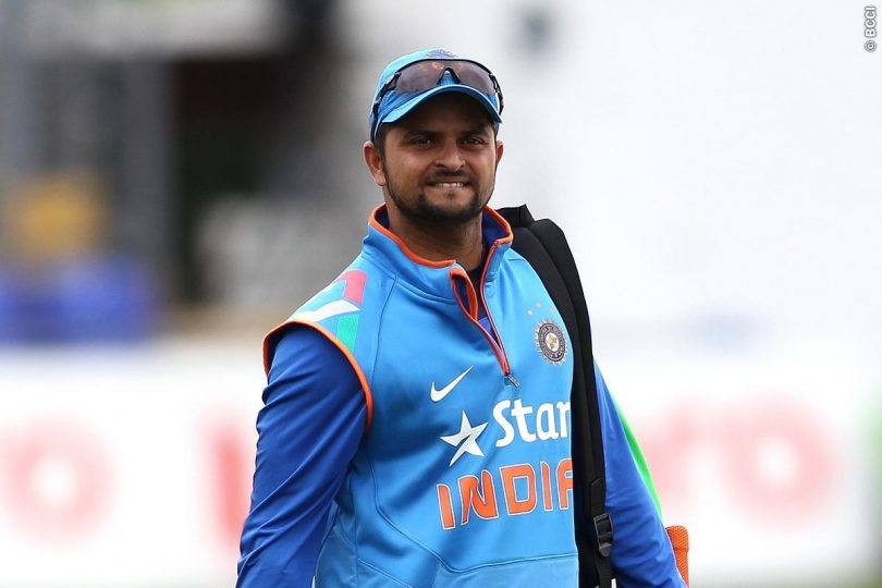 Suresh Raina joins Team India For England One-Day Series