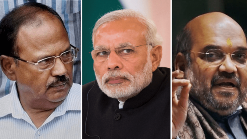 Who is responsible for demolishing the government in Jammu and Kashmir?