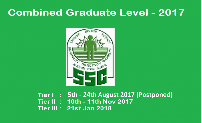 SSC CGL admit card and hall ticket 2018; Download Direct link and e-Admit Card for Staff Selection Commission