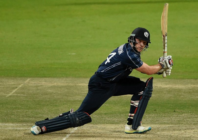 Scotland breaks their All-Time favorite record in T20I, Posted 221 against Netherlands