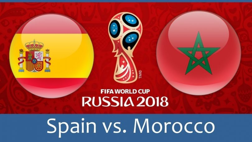 FIFA World Cup 2018; Knockout game for Spain and Portugal