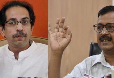 Shiv Sena support Arvind Kejriwal 'Dharna', Uddhav Thackeray Dials up Kejriwal