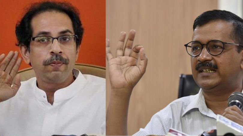 Uddhav Thackeray Dials up Kejriwal, Shiv Sena support Kejriwal's 'Dharna'