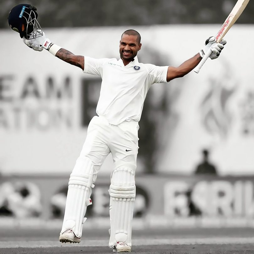 India vs Afghanistan DAY 1 Highlights: India completes 300+ as Vijay-Dhawan complets Ton